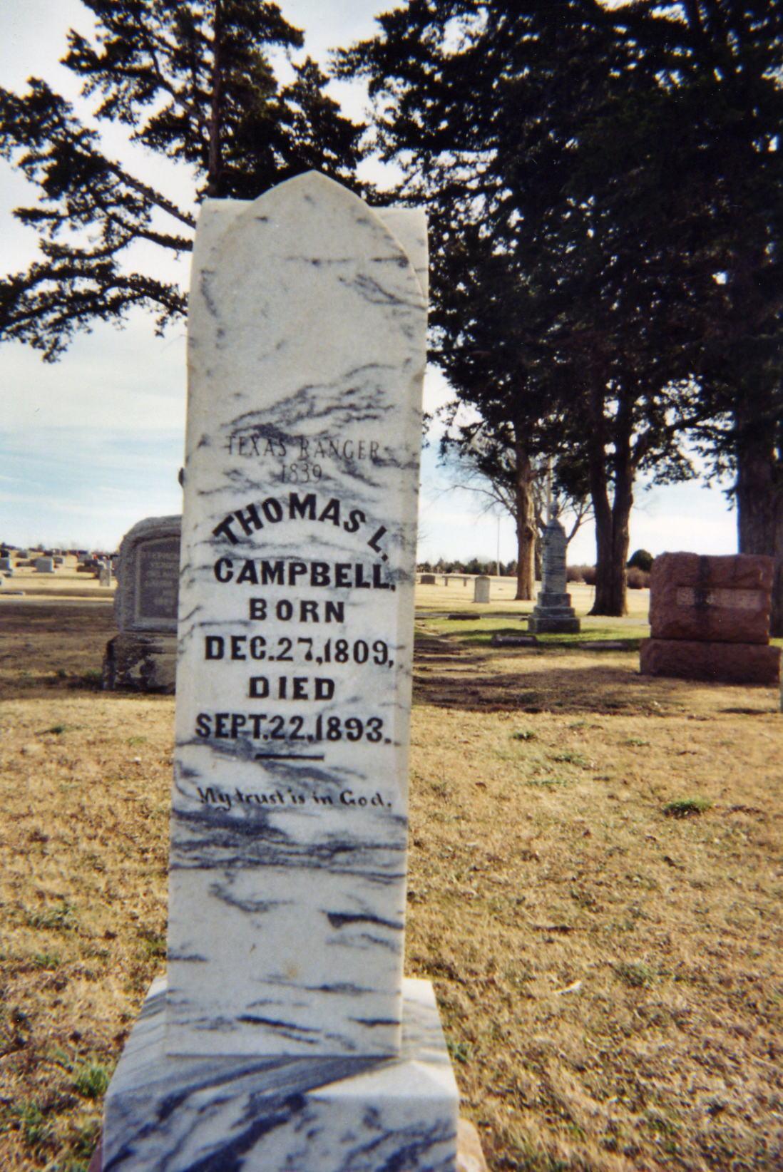 Campbell, Texas Ranger