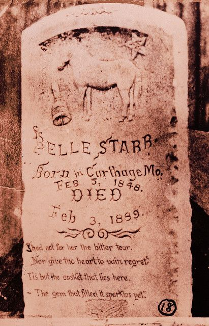 The Epitaph of Belle Starr