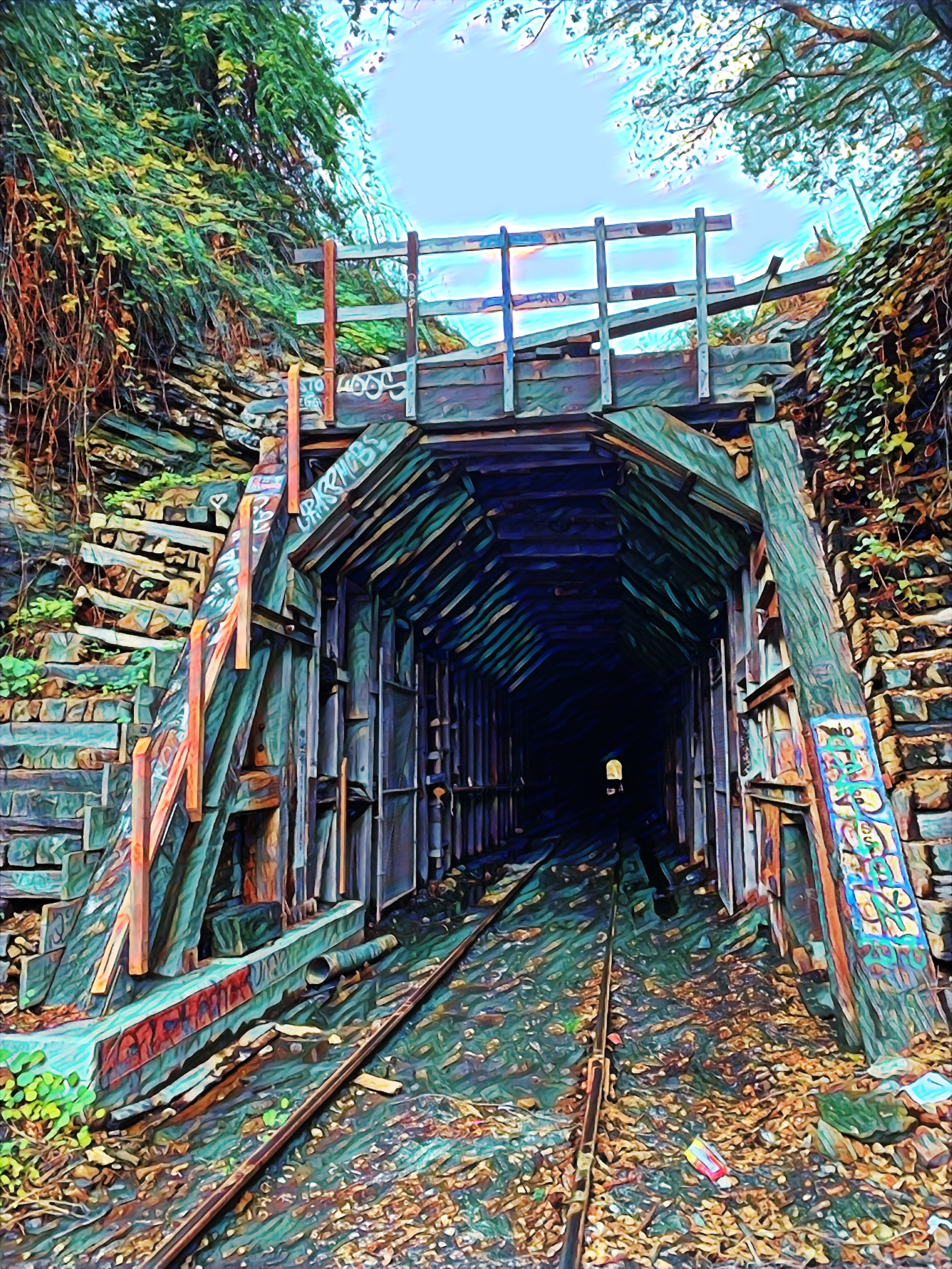 Chestnut Street Underpass 2