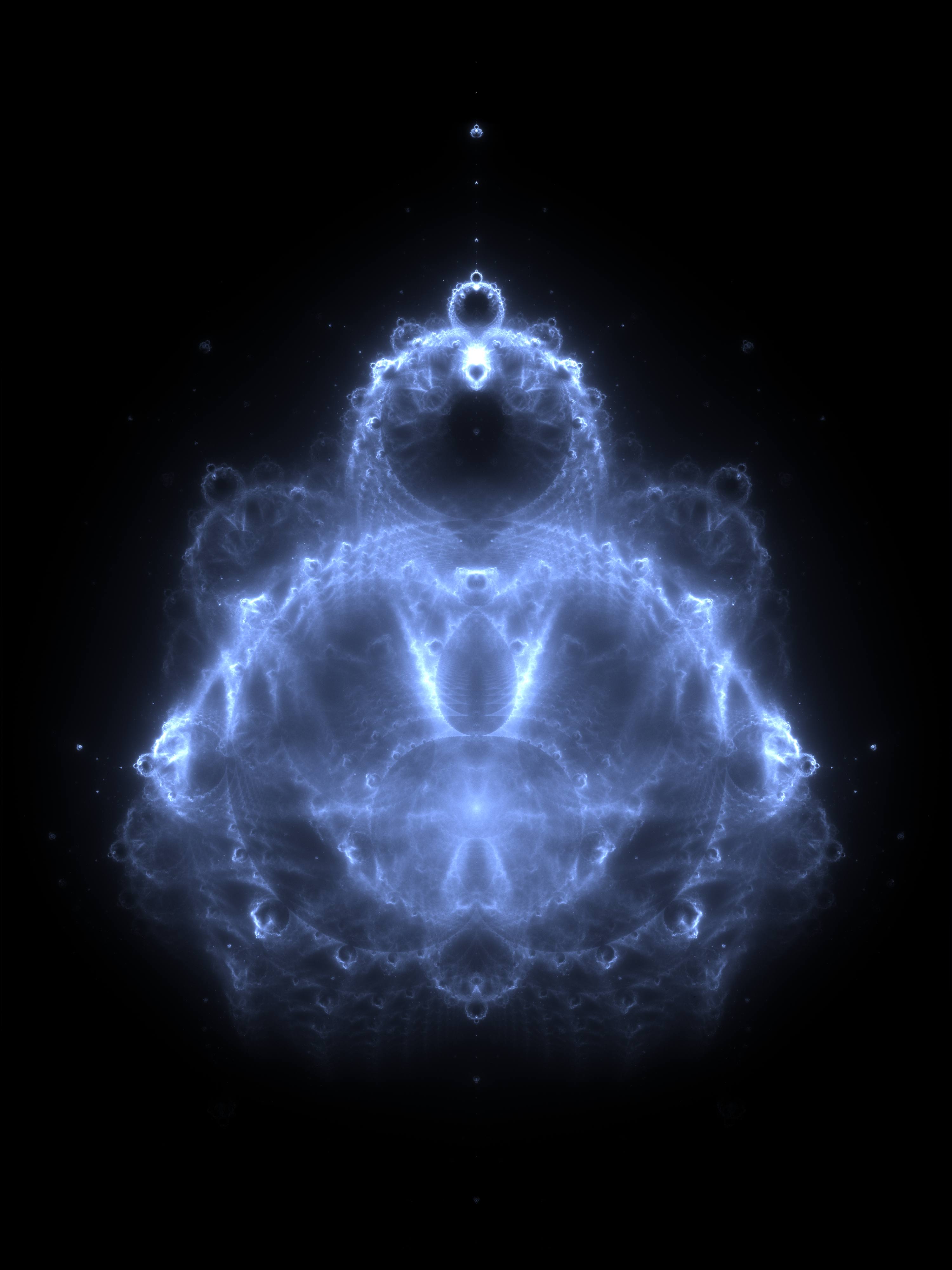 The Buddhabrot Fractal, Mandelbrot Set, and The Logistic Map